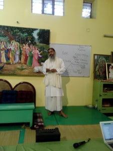 Babaji teaching Bhakti-tirtha